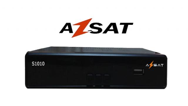 Atualização Receptor Azsat S1010 keys 22°w