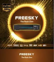 Atualização Freesky The Rock Zion HD