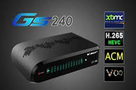 Atualização Globalsat GS 240 HD