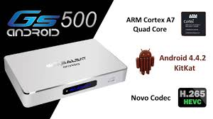 GLOBALSAT GS 500 HD ANDROID 4K