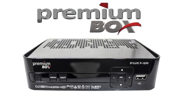 Atualização Receptor Premiumbox P1099 D lux modificada