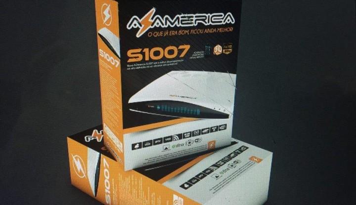 Atualização Azamerica S1007 e Azamerica S1007+ IKS Ativo
