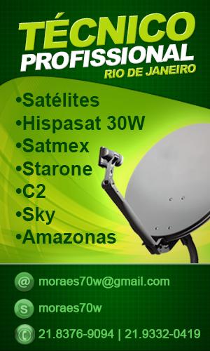 Instalador de Duosat em Vila Militar RJ Tel: 21 983769094