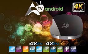 Atualização Receptor ATV Android 4K