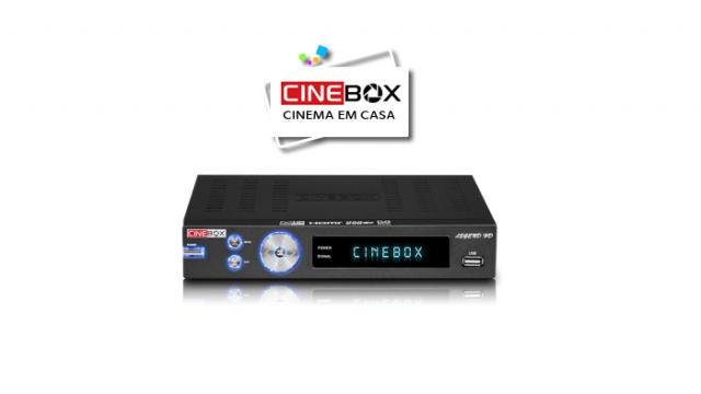 Atualização Cinebox Legend HD