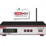 Atualização Cinebox Optimo X