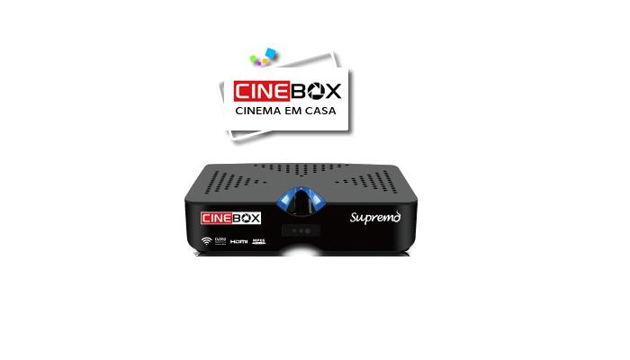 Atualização Cinebox Supremo HD