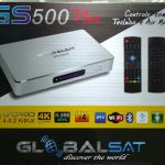 Globalsat GS500 Plus 4K Android