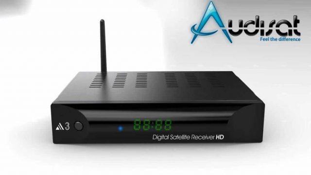 Atualização Audisat A3 HD