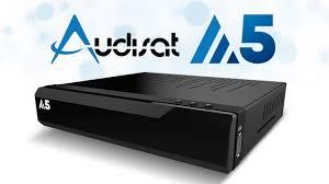 Atualização Audisat A5 HD