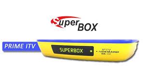 Atualização Superbox Prime ITV 4K