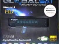 Atualização Globalsat GS-340 HD