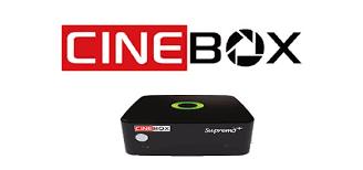 Atualizações Cinebox Supremo X e Cinebox Supremo+ - 08/04