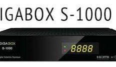 Atualização Gigabox S1000 HD Canais em HD