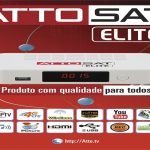 Atualização Atto Sat Elite HD Liberando Canais em HD