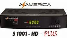 Atualização Azamerica S1001 Plus HD