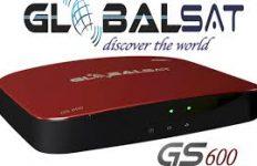 Atualização Globalsat GS 600 Android 4K