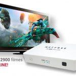 Atualização Netfree X200 HD V.0002 Sistema IPTV