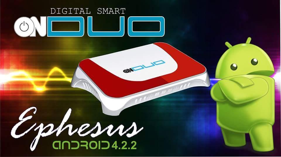 Atualização Onduo Ephesus Android Novidade em SKS 87.2W