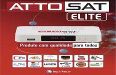 Atualização Atto Sat Elite Plus HD V.064 SKS 61W sem travas