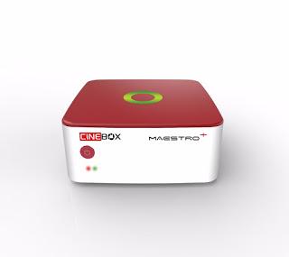 Atualização Cinebox Maestro+ Plus HD V1.27.0 SKS e IKS