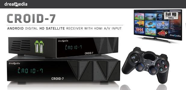 Atualização Dreamedia Croid 7 HD Android V1.45 IKS Liso