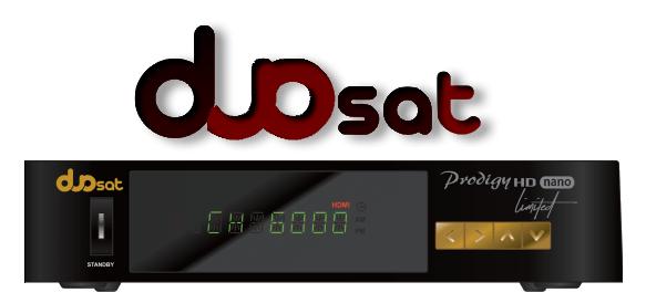 Atualização Duosat Prodigy HD Nano Limited V1.4