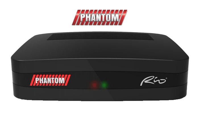 Atualização Phantom Rio HD V02.037 Sistema Vod