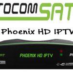Atualização Tocomsat Phoenix HD IPTV V02.044 Vod On