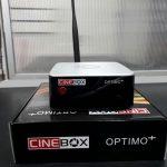 Atualização Cinebox Optimo+ HD SKS e IKS reforçados