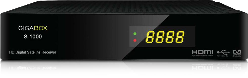Atualização Gigabox S1000 HD V2.21 hoje 17 de setembro