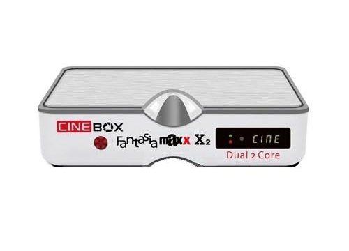 Atualização Cinebox Fantasia Maxx X2 HD Melhorando SKS e IKS