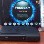 Atualização Freesky Duo Max HD V2.24 Canais HD on