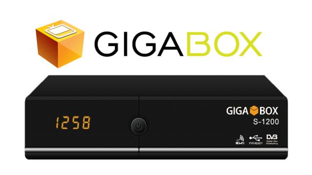 Atualização Gigabox S1200 HD V1.34 10 de Outubro