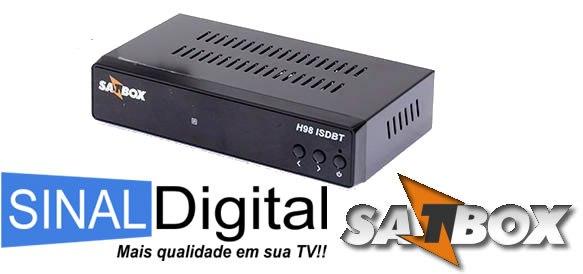 Atualização Satbox H98 Cabo Adicionando Nit e Frequências