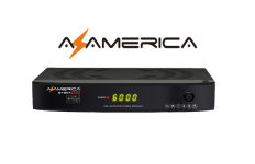 Azamerica S1001 Plus Atualização Funcionando SKS e IKS