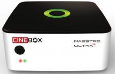 Atualização Cinebox Maestro Ultra+ Plus HD V1.27.0