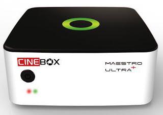 ATUALIZAÇÃO CINEBOX MAESTRO ULTRA V1.27.0 - 02/11/2017