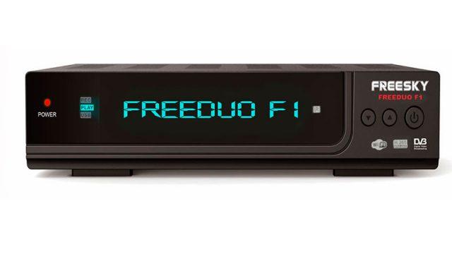 Atualização Freesky Freeduo F1 HD V2.17 SKS e IKS Ativos