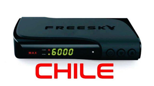 Atualização Freesky Max HD (Chile) V3.11 dia 02 de Novembro