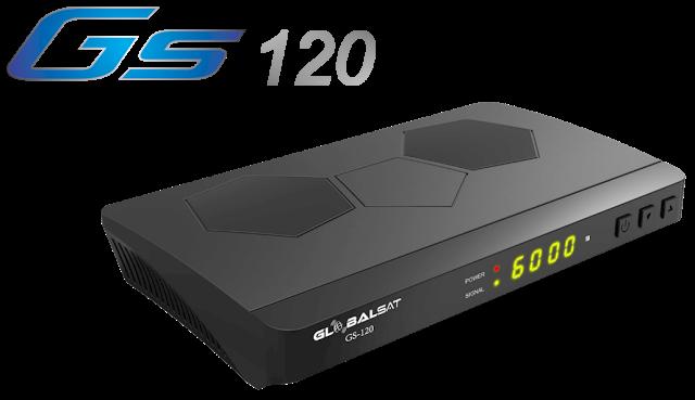 Atualização Globalsat GS120 HD V2.19 SKS e IKS Corrigidos