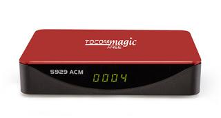 ATUALIZAÇÃO TOCOMFREE MAGIC S929 ACM V 1.31