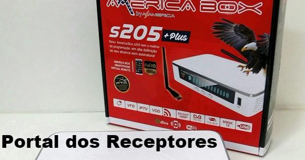 Atualização Americabox S205+ Plus