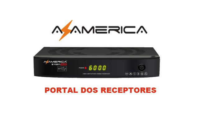 NOVA ATUALIZAÇÃO AZAMERICA S1001 PLUS HD