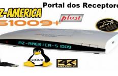 Atualização Azamerica S1009+ Plus pronta para uso