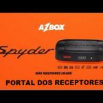 Atualização Azbox Spider HD Liberada