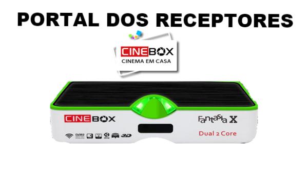 Atualização Cinebox Fantasia X HD sem Travas