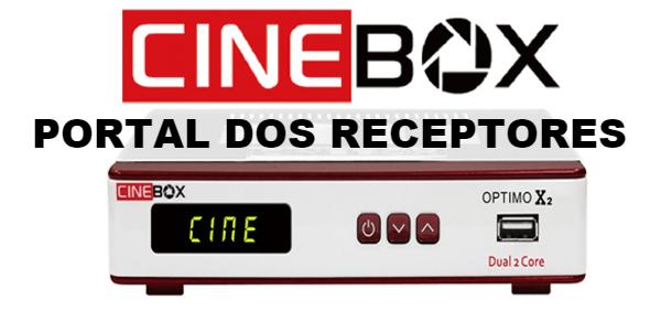 Atualização Cinebox Optimo X2 HD Estabilizada
