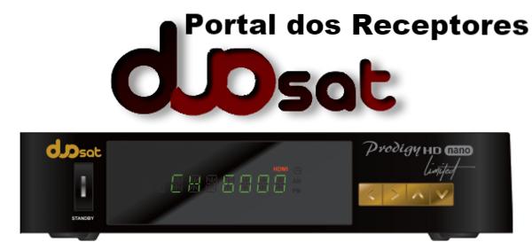 Baixe aqui Atualização Duosat Prodigy HD Nano Limited