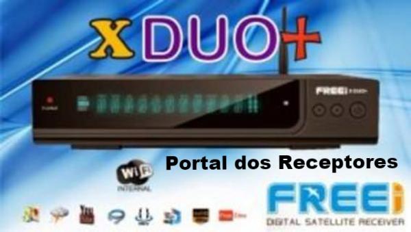 Atualização Freei Xduo+ HD liberada